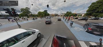 traffico di bici