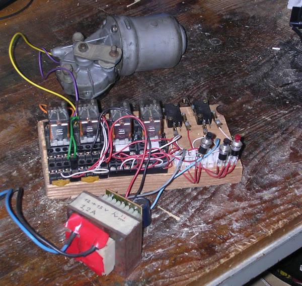 Schema Elettrico Per Automazione Cancello : Comando di un cancello motorizzato con logica cablata u ingdemurtas