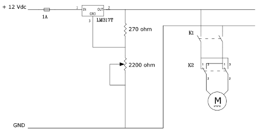 Schema Elettrico Regolatore Di Tensione Velocità Motore Elettrico Corrente Continua : Parcheggio automatizzato gestito da plc ingdemurtas