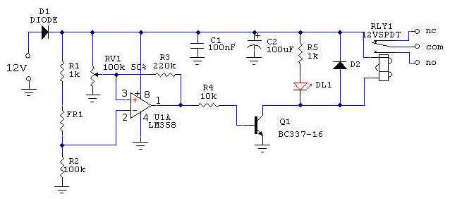 Schema Elettrico Per Interruttore : Schema elettrico crepuscolare vemer interruttore