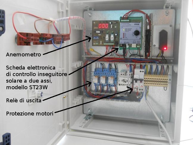 Schema Elettrico Per Inseguitore Solare : Realizzazioni recenti ingdemurtas