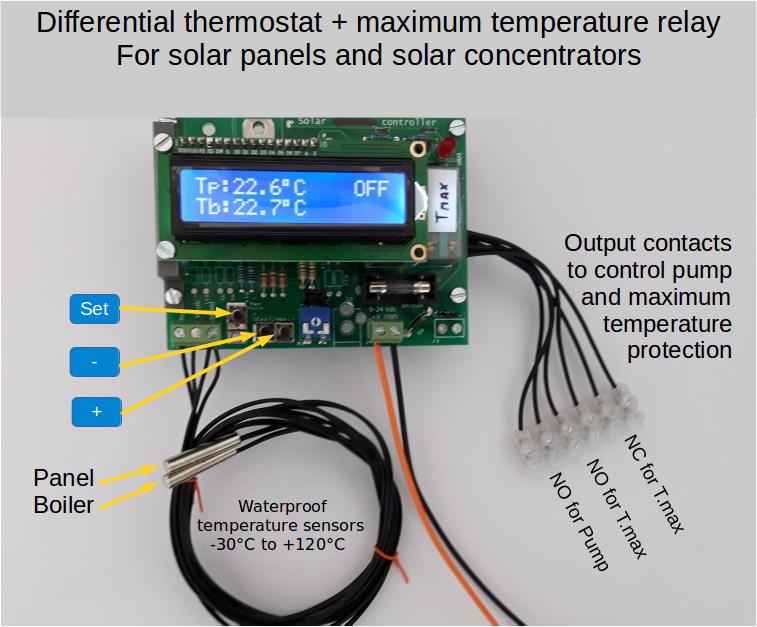 Differential thermostat – ingDemurtas