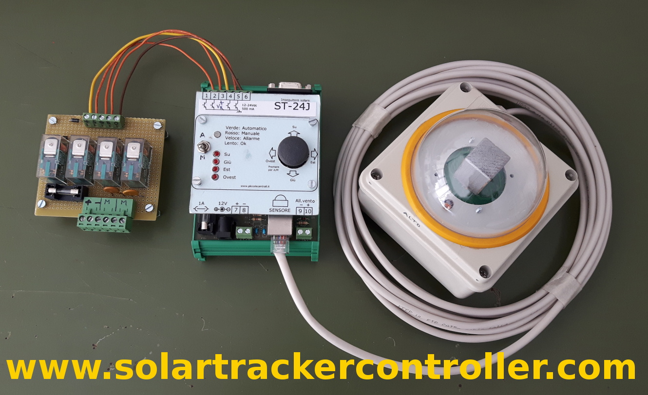 Sun Tracking Control System For Pv Ingdemurtas Solar Tracker Schematic Diagram Picture My Has Never Stopped Operation Since February 2009 I Did Any Electrical Or Mechanical Maintenance Mario